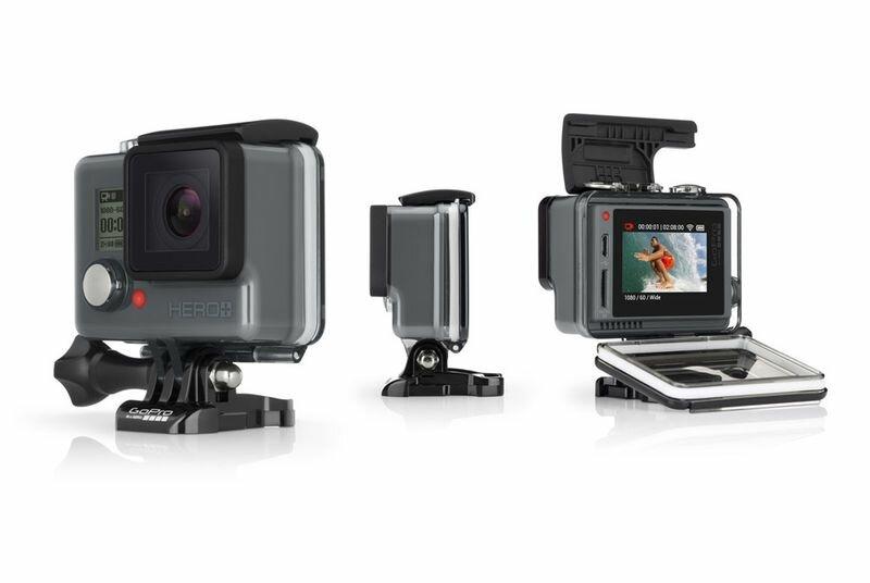 GoPro Hero с встроенным LCD экраном