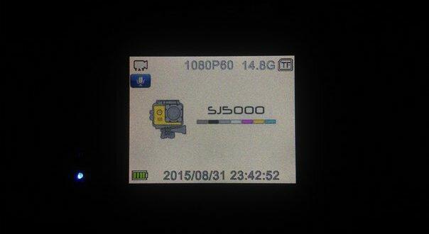 Проблема с SJ5000 plus: надпись SJCAM на белом фоне