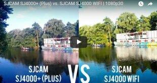 SJCAM SJ4000 Plus vs. SJCAM SJ4000 WIFI
