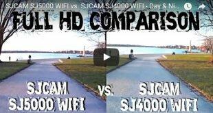 SJCAM SJ4000 Wi-Fi или SJ5000 Wi-Fi