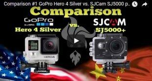 GoPro 4 Silver vs. SJCAM SJ5000 plus